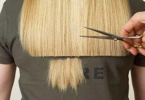 как подстричь кончики волос самостоятельно: освежаем причёску своими руками